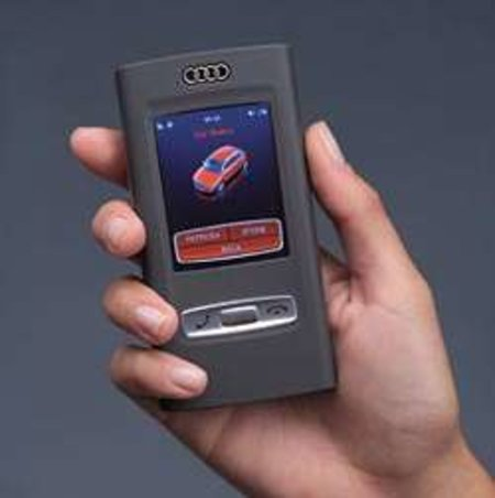 Audi concept car comes complete with mobile phone