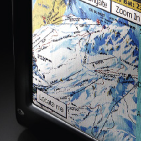 Satski gives skiers interactive piste map