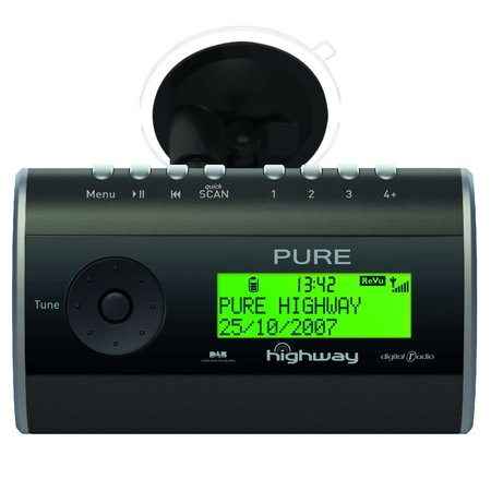 "Pure launches ""Highway"" DAB digital radio for cars"