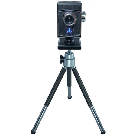 Retro webcam comes complete with tripod