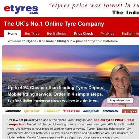 WEBSITE OF THE DAY - etyres.co.uk