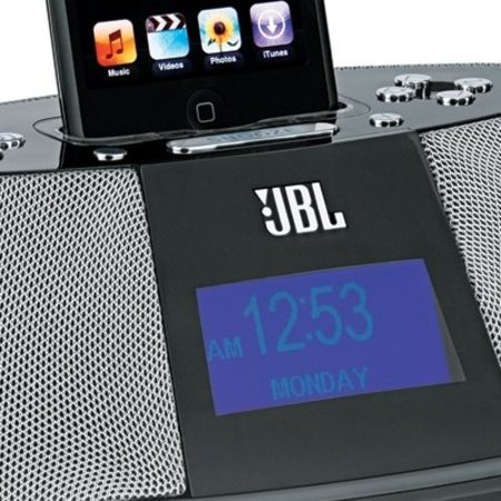 CES 2008: JBL iPod Alarm clocks promises to wake you up