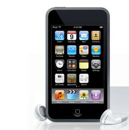 Macworld2008: iPod touch gets new software
