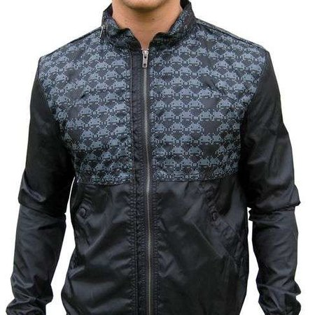 "Jacket with ""Space Invaders"" design on offer"