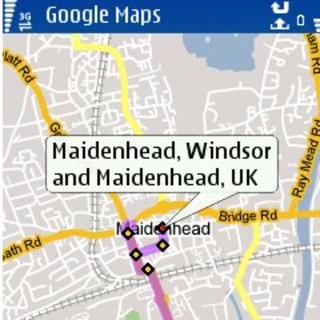 "3 offers Google Map's ""My Location"" feature on handsets"