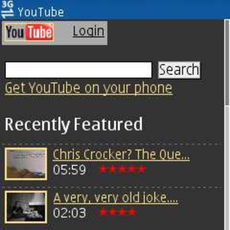 "3 offers enhanced ""YouTube for Mobile"""