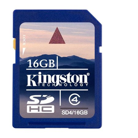 Kingston Technology launches 16GB SDHC card