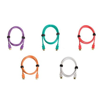 Laic offers colourful HDMI cables