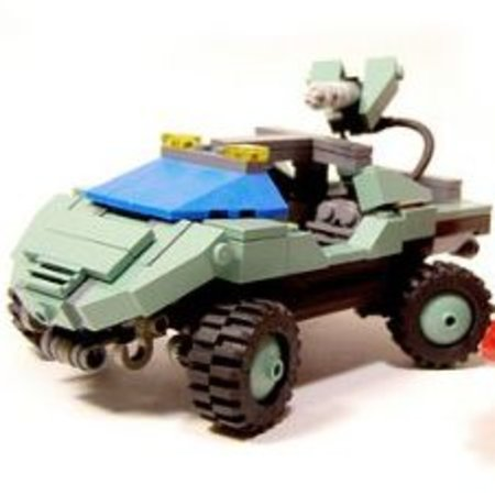 Lego Halo being built now