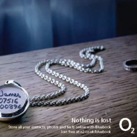 "O2 launches ""Bluebook"" back-up service"