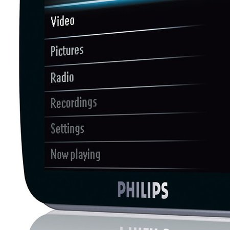 "Philips GoGear SA52 ""portable audio video player"" launches"