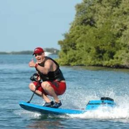 Power Surfboard available for the lazy