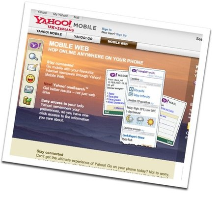 Yahoo oneSearch goes live on T-Mobile