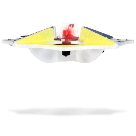 Easy to handle remote controlled flying saucer launches