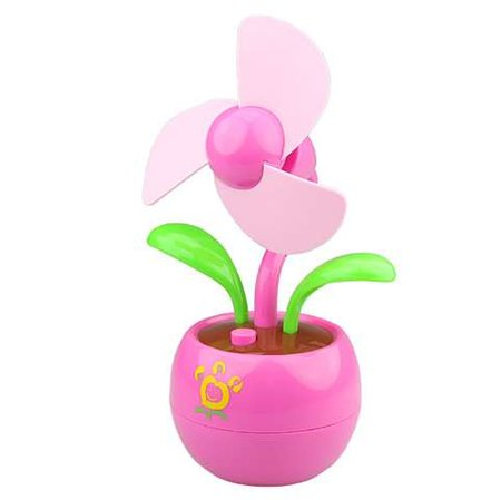 USB flower fan launches