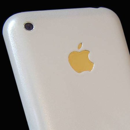 """Solar Star"" white and gold iPhone launches"