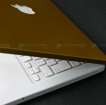 Gold and silver MacBook covers launched