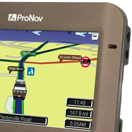 Navevo ProNav GPS for lorry drivers launches