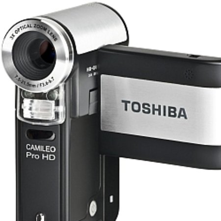 Toshiba Camileo Pro HD SD camcorder on sale in UK