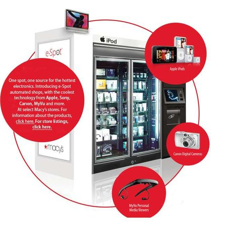 Macy's to launch gadget vending machines in 400 stores