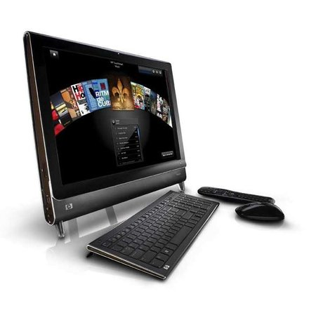 HP TouchSmart IQ500 PC launches