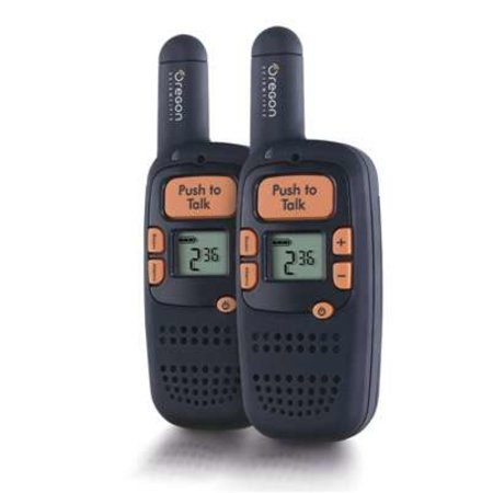 Oregon Scientific offers slimline walkie talkies