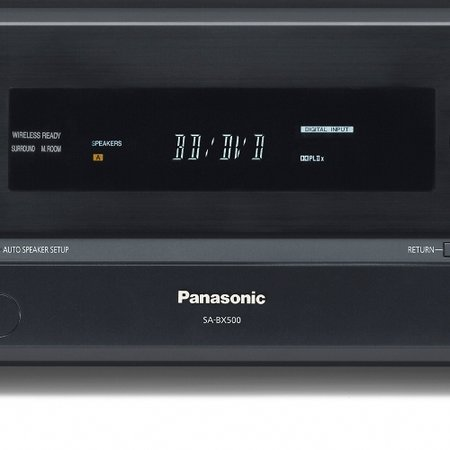 Panasonic SA-BX500 AV receiver launches