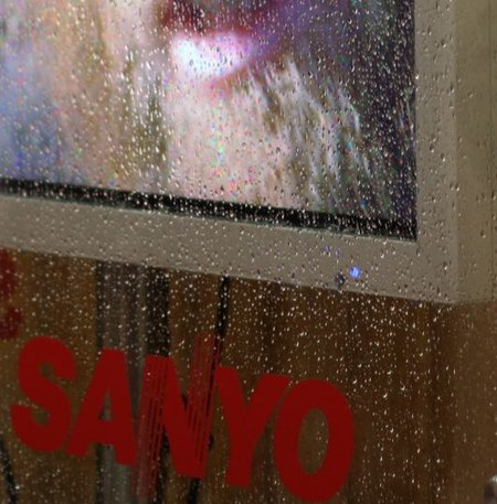 Sanyo go weatherproof with new TV
