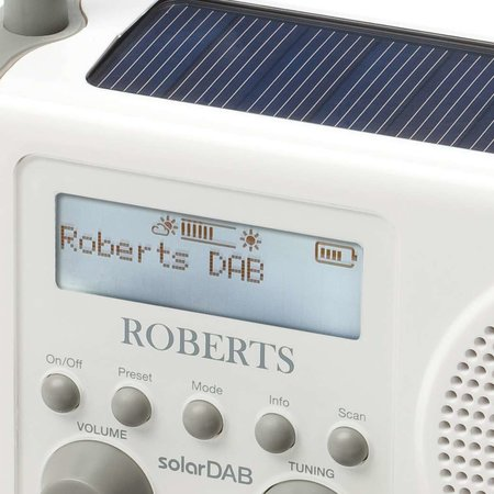 Roberts solarDAB radio launches