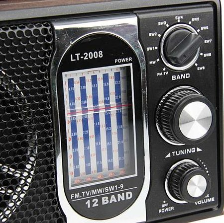 Classic retro radio launches