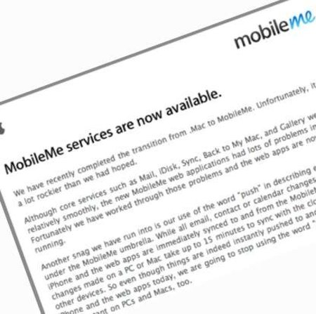 Apple apologises for MobileMe mess