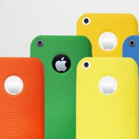 Colourful silicone iPhone 3G cases launch