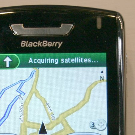 Garmin Mobile for BlackBerry launches