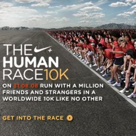 "Join the Nike+ ""Human Race"""