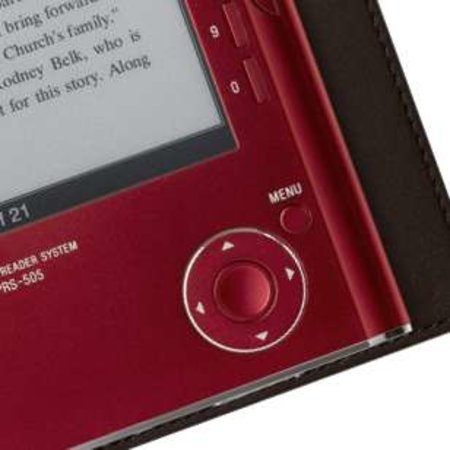 PHOTO: Sony Reader in red