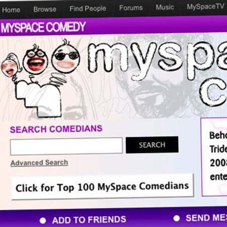 MySpace and Warner launch new comedy channel
