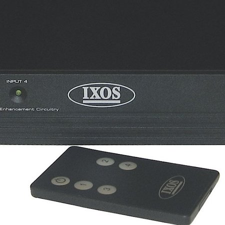IXOS launches multiway HDMI switch