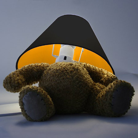 Teddy Bear lamp - when gadgets get evil
