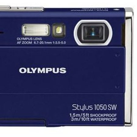 Olympus Mju 1050 adds tap control to digital camera