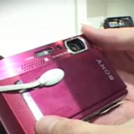 VIDEO: Sony Cyber-shot T500