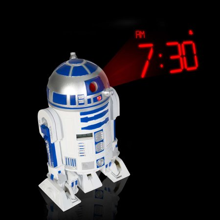 R2D2 projection clock launches
