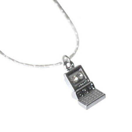 Tiny retro computer necklace launches