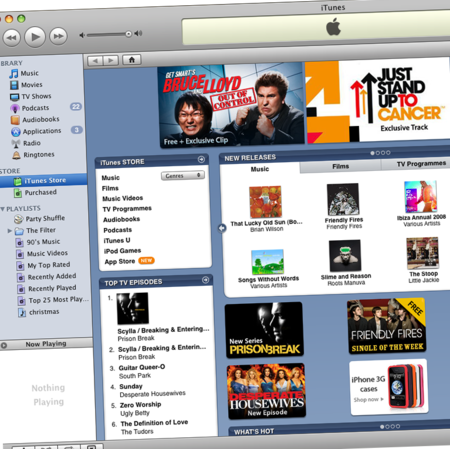 Apple iTunes 8.0 available for download