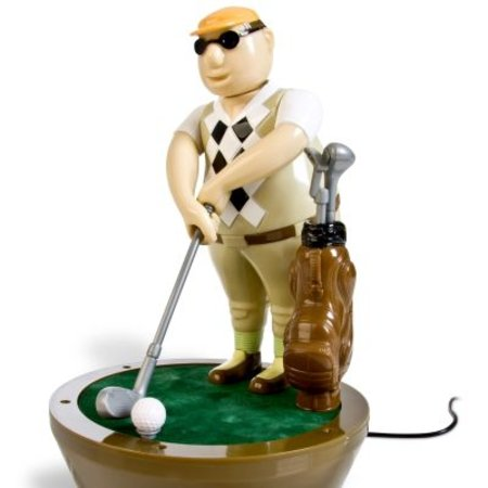 USB golfer for desktop fun