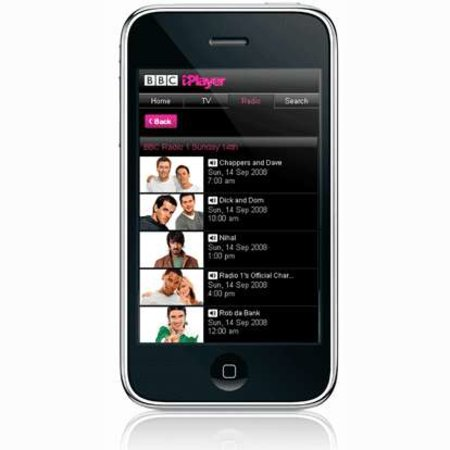 iPhone gets iPlayer radio on demand