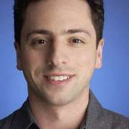 Sergey Brin wishes fellow space tourist good luck