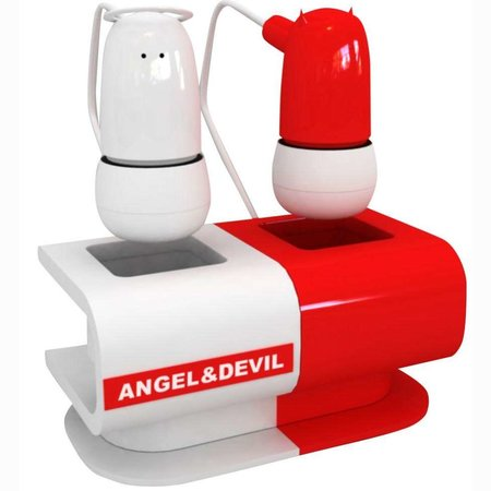 Angel and devil headphones launch