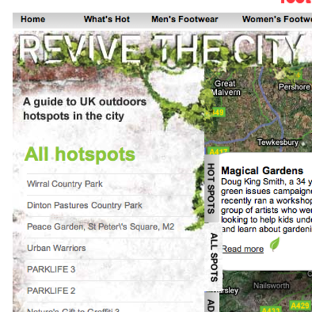WEBSITE OF THE DAY - revivethecity.com