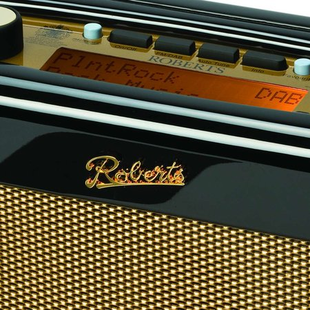 "Roberts offers ""piano black"" revival DAB"