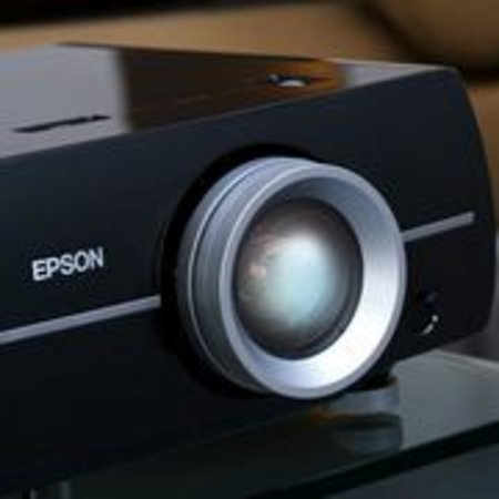 Free digital frame with Epson EH-DM2 projector